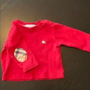 Burberry Long Sleeve Baby Boy Shirt